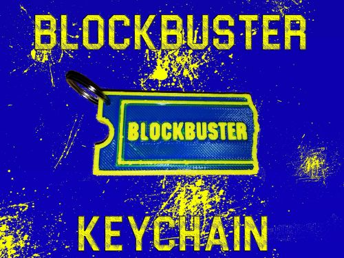 Blockbuster Keychain