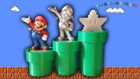 3D Printed Amiibo Mario Warp Pipe Stands (Set of 3)